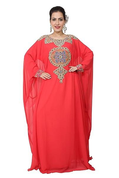BEDIS UAE Estilo Mujer Farasha -Eid desgaste étnico-Maxi musulmana árabe Abaya Vestido Jilbab