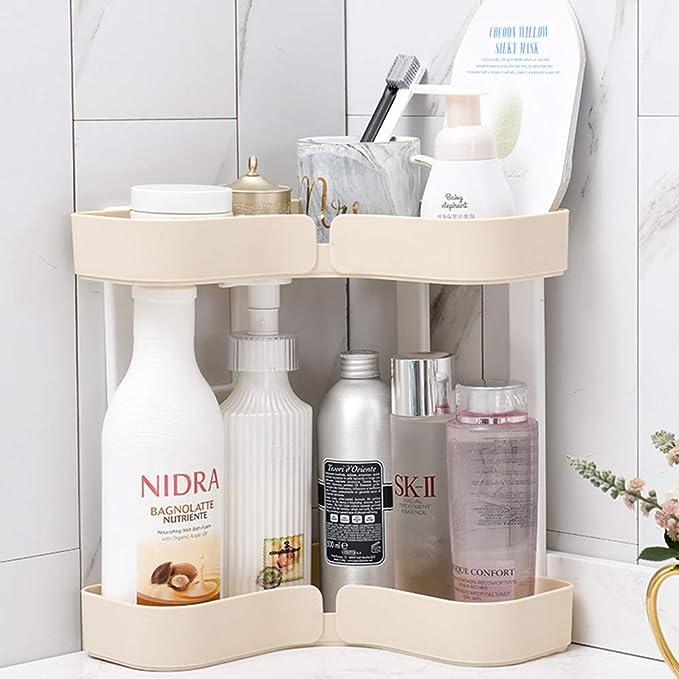 acondicionador Gel KXYF Tri/ángulo Estantes Ducha,Estanter/ía de Esquina,Estantes de Pared Cesta,Ba/ño para Organizar Productos de higiene como champ/ú