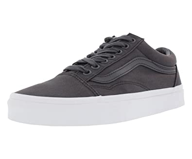0b036b1c4f Vans Off The Wall Old Skool Mono Canvas Sneakers (Asphalt) Skateboarding  Shoes