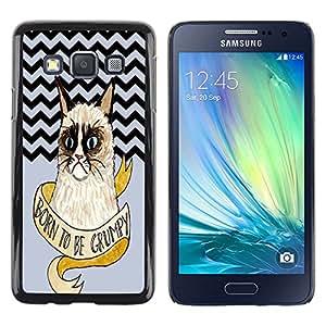 Dragon Case - FOR Samsung Galaxy A3 - Tomorrow is mystery - Caja protectora de pl??stico duro de la cubierta Dise?¡Ào Slim Fit