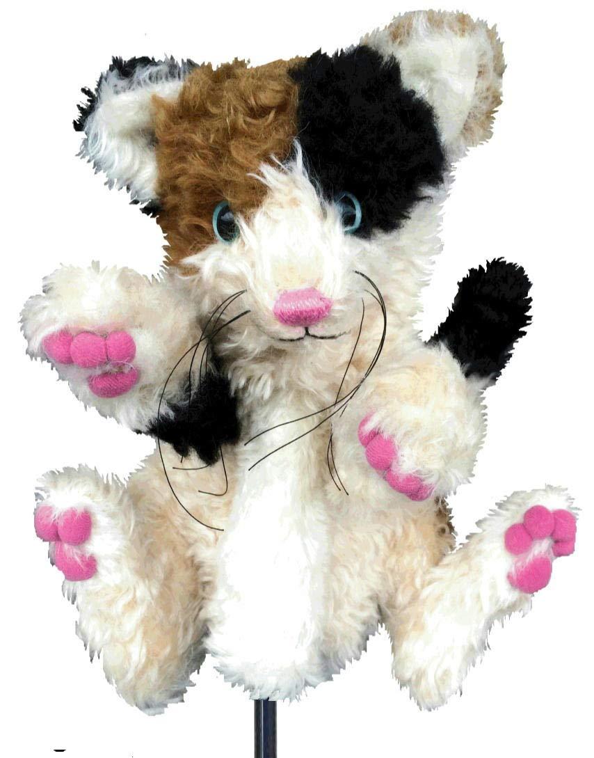 nokduk ゴルフ ヘッドカバー ドライバー仕様 アニマルシリーズ 『三毛猫』 初回限定オンリーワンモデル 1点物 モヘア 製 丁寧なハンドメイド製品 とっても可愛いキャット CAT好きの人に です 動物キャラクター ゴルフクラブ ウェッジウッド フェアウエイウッド   B07HVM7VNL