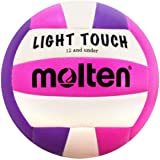 Molten MS240-3 Light Touch Volleyball, Red/White/Blue