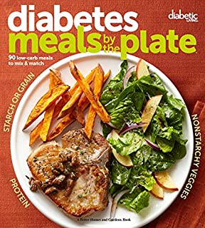 Power foods for diabetes the top 20 foods and 150 recipes for total diabetic living diabetes meals by the plate 90 low carb meals to mix fandeluxe Choice Image