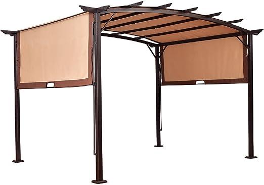 Pergola estructura metalica