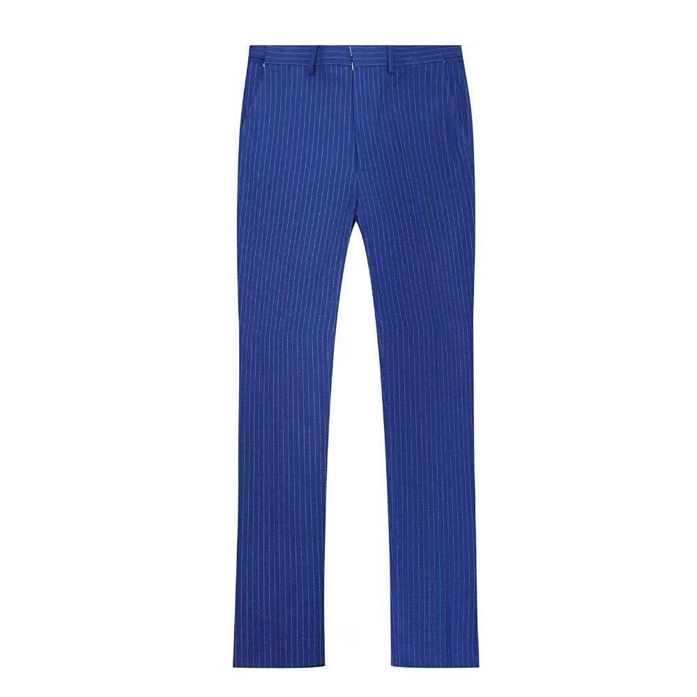 Amazon.com: Traje para hombre de alta gama, color azul real ...