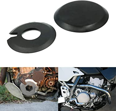 Ignition Clutch Case Covers Guards Kit For Suzuki DRZ400 DR-Z400S DRZ400SM Kawasaki KLX400 Black