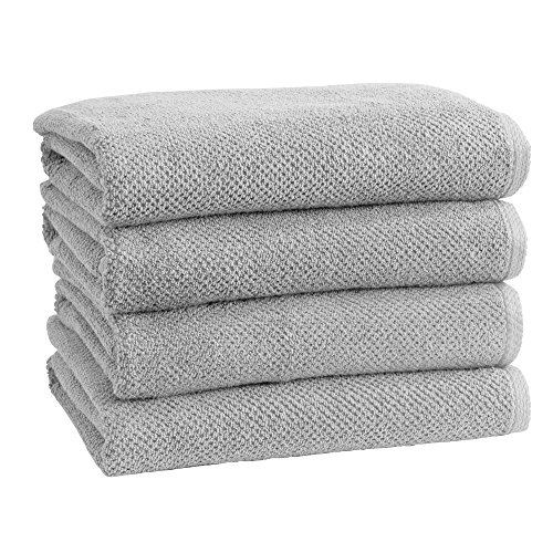 100% Cotton Quick-Dry Bath Towel Set (30 x 52 inches) Highly Absorbent, Textured Popcorn Weave Bath Towels. Acacia…