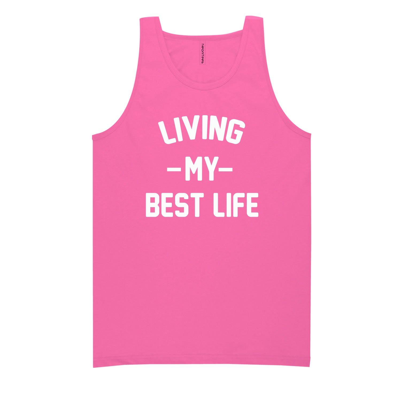 Living My Best Life Neon Tank Top