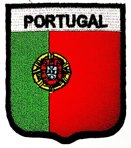 Portugal Portuguese Republic National Flag logo patch Jacket T-shirt Sew Iron on Patch Badge - Number Portugal Tracking