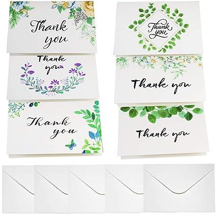 Tarjetas de felicitación hechas a mano, tarjetas de felicitación para boda, tarjetas de agradecimiento, notas, día de San Valentín, regalos de baby ...