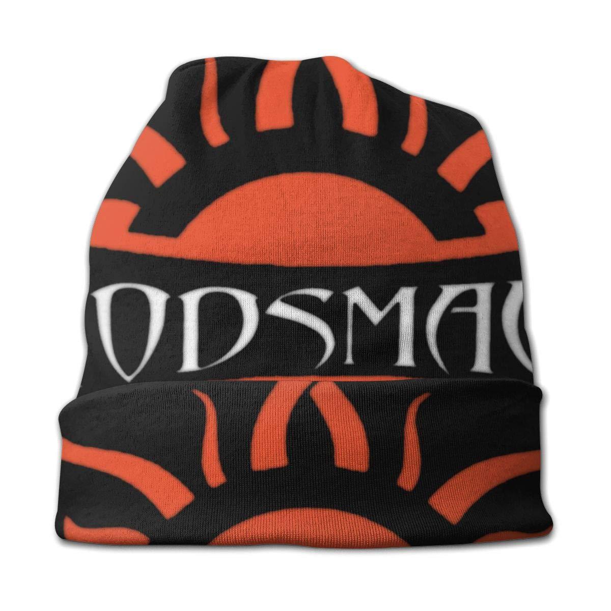 DorothyJDavis Godsmack Hip Hop Slouchy Polyester Fashion Thin Kids Knit Hat Black