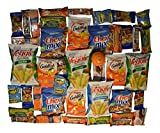 Healthy Snack Box - 40 Individually Wrapped Snacks Plus Snack Better Stress Ball