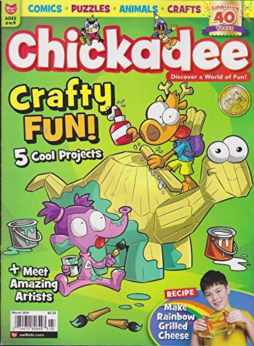 Chickadee Magazine March 2019 -