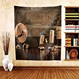 Gzhihine Custom tapestry Concept Gaming Dart with Wine Cork Figures - Fabric Tapestry Home Decor inches