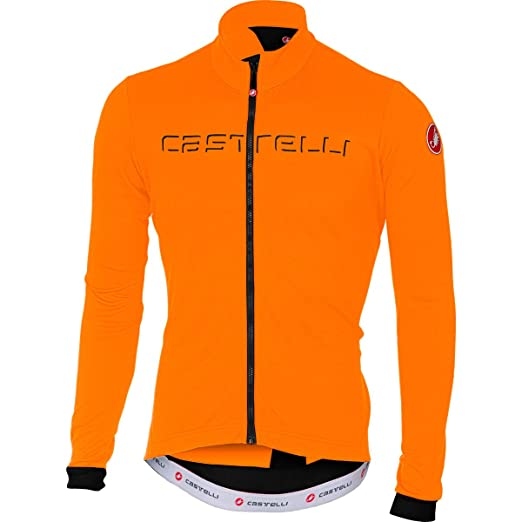 Castelli Fondo Full-Zip Long-Sleeve Jersey - Men s Moonlight Blue Black 4dbc1cf39