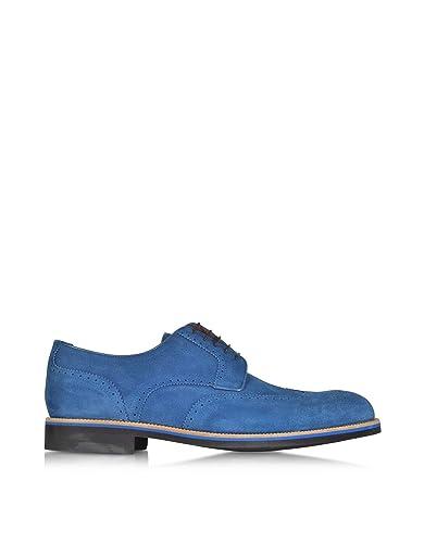 A.Testoni Herren M45702BEH98168OTM Blau Wildleder