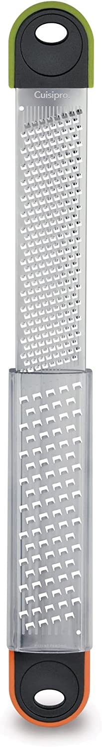 Cuisipro Surface Glide Technology Deluxe Dual Grater