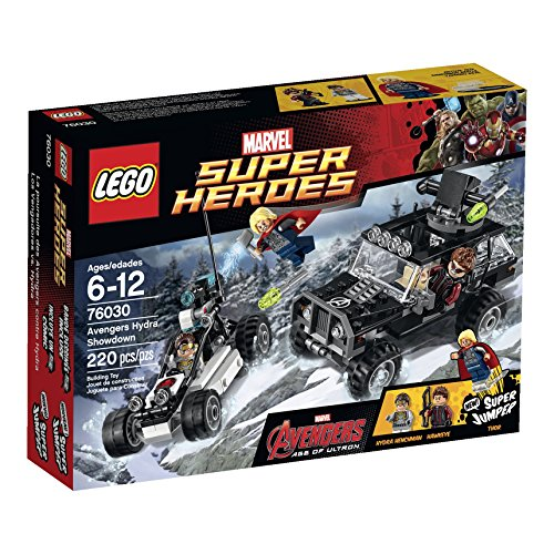 LEGO Superheroes Avengers Hydra Showdown (Lego Avengers 2 Sets compare prices)