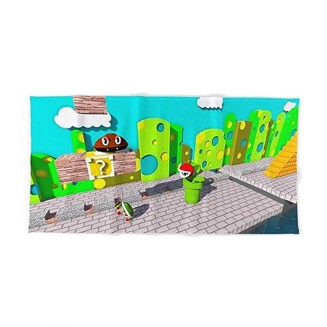"""Donola Mario Playground - Toalla de baño (31,5"""" ..."""