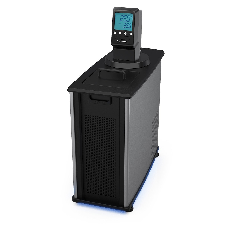 PolyScience MX07R-20-A11B MX07R-20 Refrigerated Circulating Water Bath, MX Controller, 21.3'' x 25.4'' x 8.7'', 7 L Capacity, 120V, -20 to 135 Degree C
