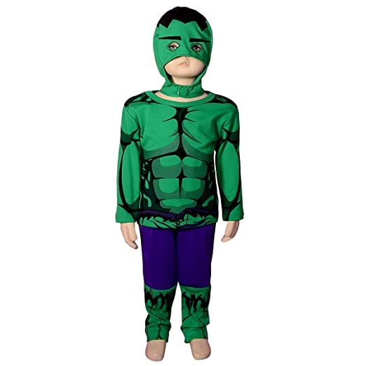 dressy daisy boys incredible hulk avenger superhero costume halloween party size 2t 3t