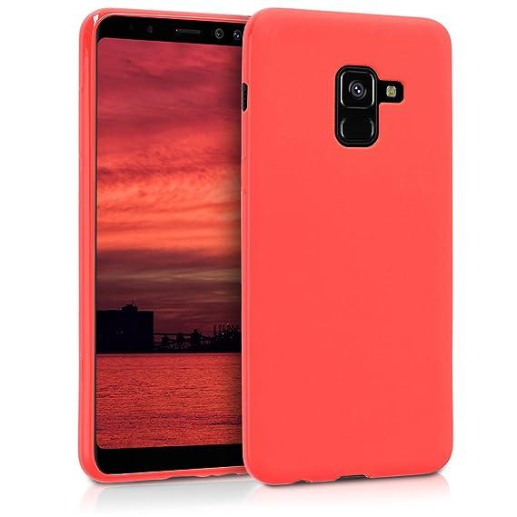the best attitude 62094 ab26b Amazon.com: kwmobile TPU Silicone Case for Samsung Galaxy A8 (2018 ...