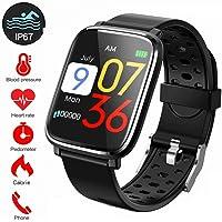 Pulsera de Actividad Inteligente, IP67Impermeable Reloj Inteligente Pulsera Actividad Inteligente para Deporte, Reloj de Fitness con Podómetro Smartwatch-45