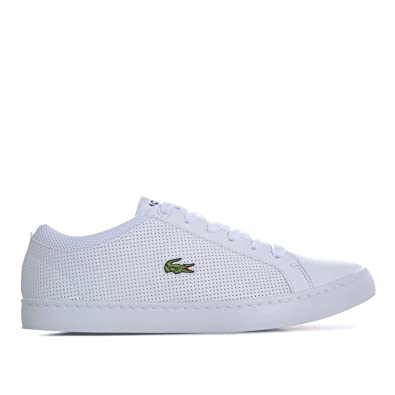 fd7c707685 Lacoste Baskets Straight Set 118 Blanc Garçon: Lacoste: Amazon.fr ...