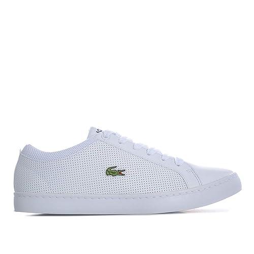 Lacoste - Zapatillas para niño, Color Blanco, Talla 34 EU: Lacoste: Amazon.es: Zapatos y complementos