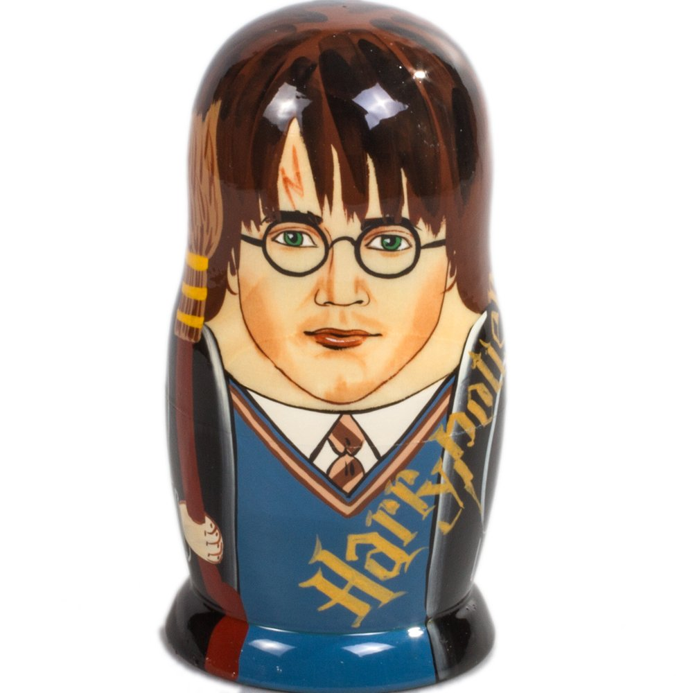 Books.And.More Harry Potter Nesting Dolls Set 5pcs Matryoshka Dolls by Books.And.More (Image #4)