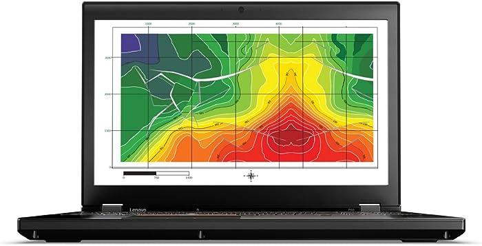 Lenovo 20EN003LUS ThinkPad P50 Intel Core i7-6820HQ 2.7 GHz Laptop, 32 GB RAM, Windows 10 Pro
