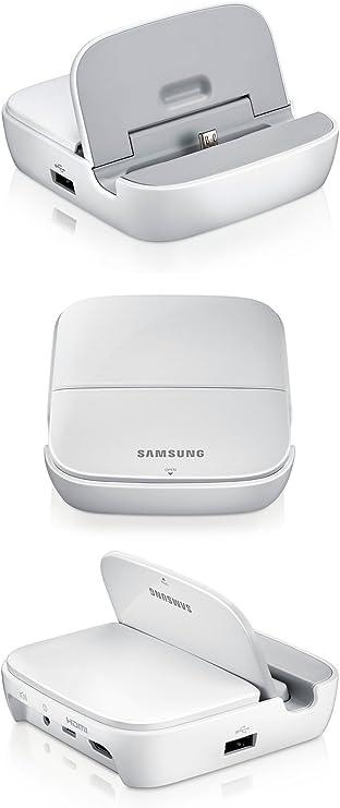 VT-France-Samsung Smart Hub-Estación Multimedia HDMI para Samsung Galaxy Note 2/S3/4 Mega, color blanco, modelo EDD-S20EWEGSTD: Amazon.es: Electrónica