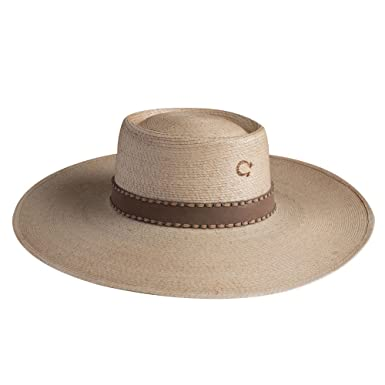 d2e4659a960 Charlie 1 Horse Vaquera Palm Leaf Hat at Amazon Women s Clothing store
