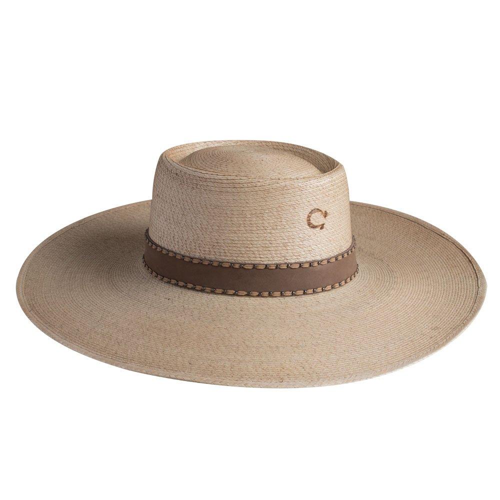 4688af6a0 Charlie 1 Horse Vaquera Palm Leaf Hat