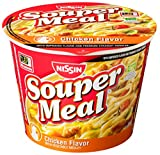 Nissin Souper Meal Chicken with Vegetables, 4.3 Ounce (Pack of 12)