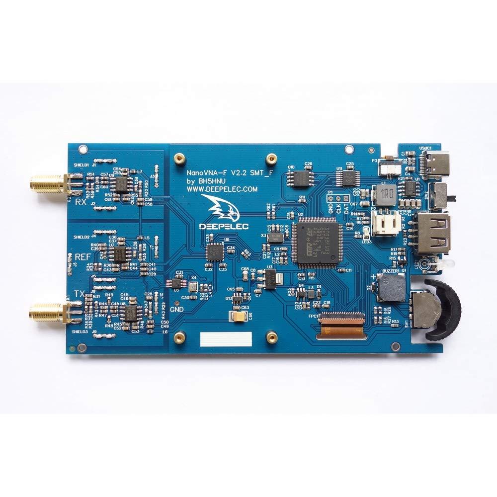 50 KHz-1000 MHz schermo digitale IPS TFT 4,3 pollici Analizzatore di rete vettoriale portatile NanoVNA-F analizzatore di antenna VHF MF HF