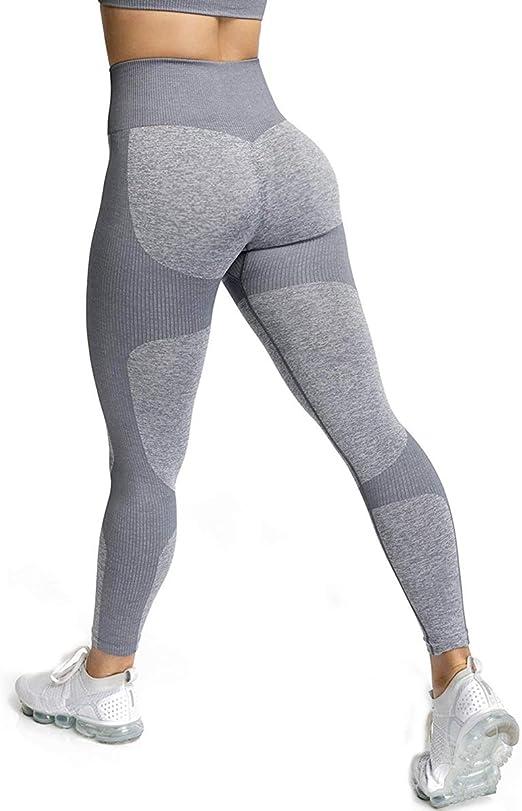 Damen Leggings Tight lange Sporthose Laufhose Fitness YOGA Gym Jogging Leggins