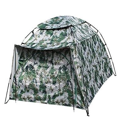 Dome TentCamping tentes et simple automatique Tente One Room 2000-3000 mmMoistureproof / humidité Perméabilité Waterproof , camouflage