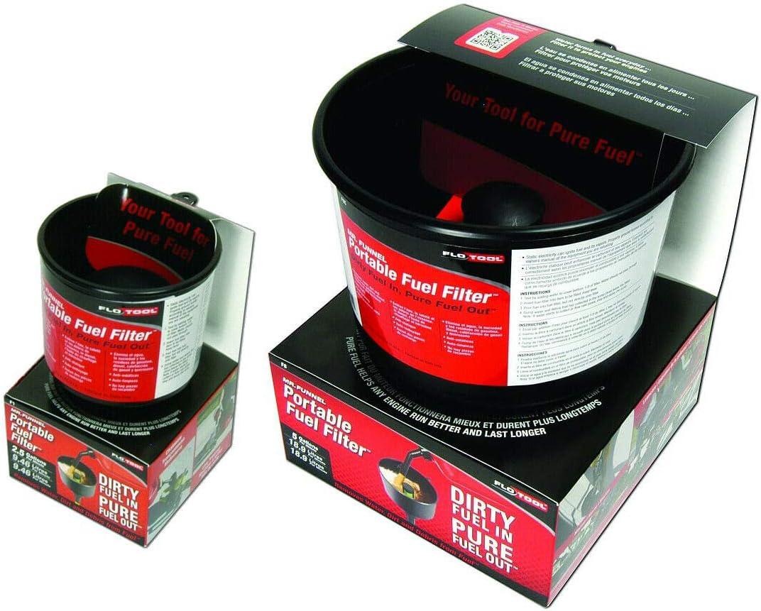 Flotool Fuel Filter Funnel Dirt /& Water Separator