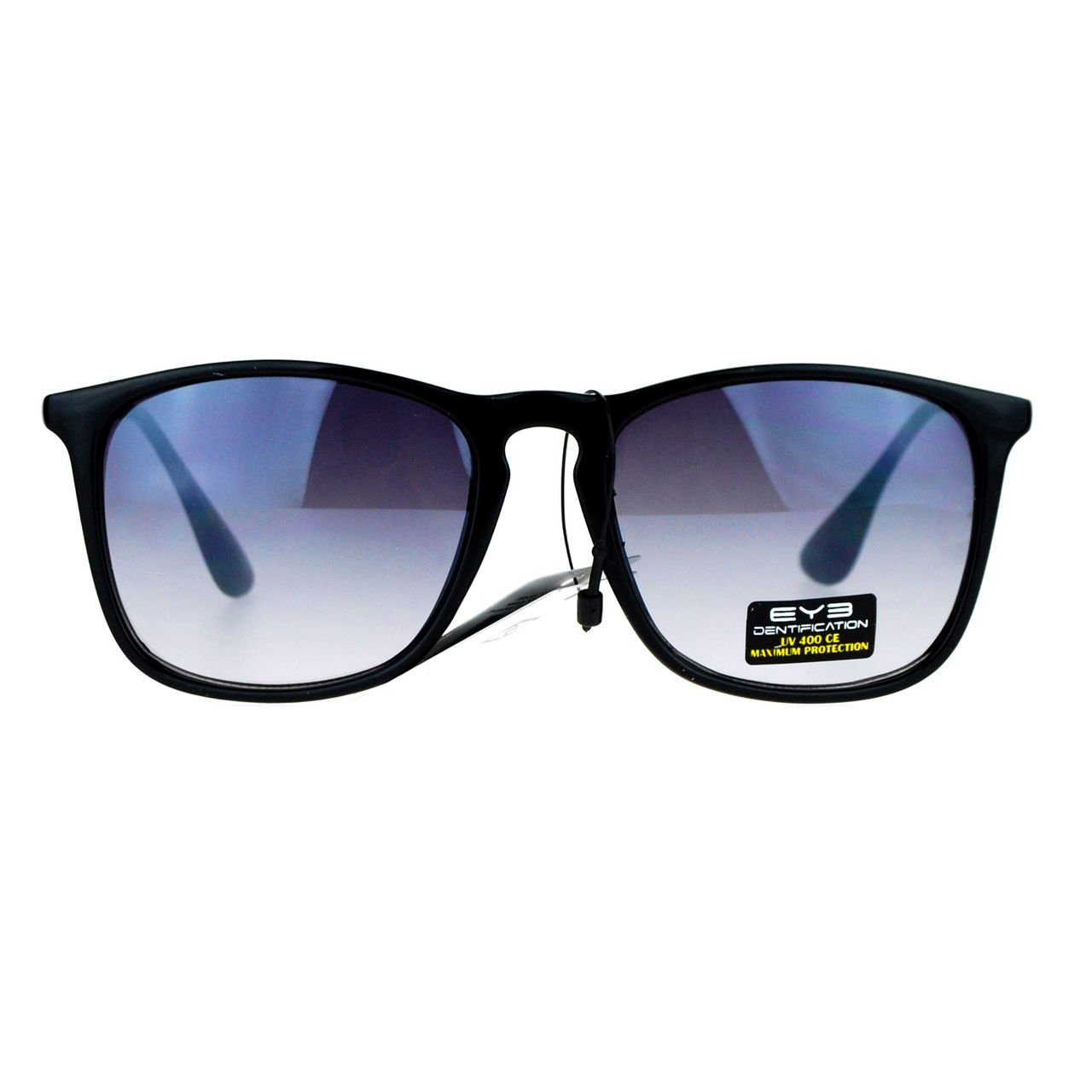 UV Protection Unisex Sunglasses Classic Hipster Square Frame Shades