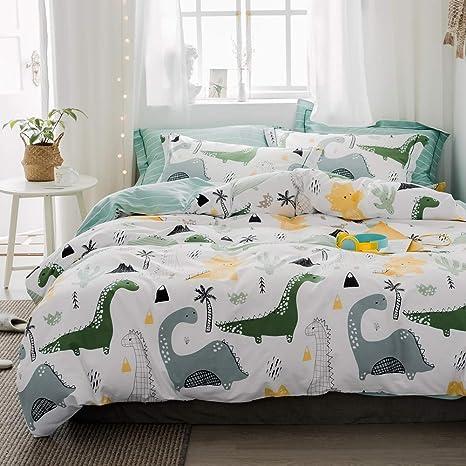 100/% Cotton Sheets Kids Sheets For Girls Boys Teens Dinosaur Full