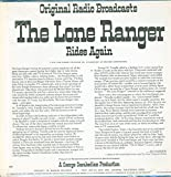 Original Radio Broadcasts - The Lone Ranger Rides Again - Mark 56 - 687 - USA NM/VG++ LP
