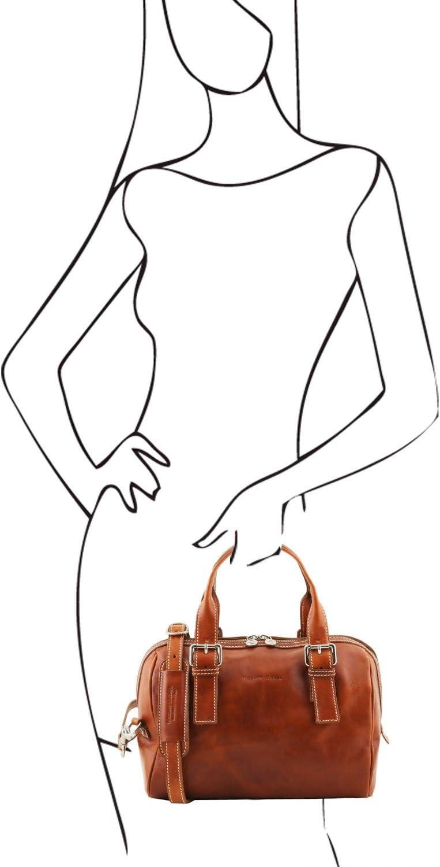 Tuscany Leather Eveline Bauletto in pelle - TL141714 (Nero) Miele
