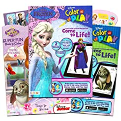 Disney Sofia the First and Frozen Colori...