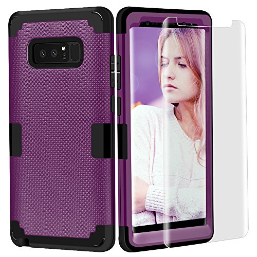 Tempered Glass Screen Protector for Samsung Galaxy Note 2 (Purple) - 8