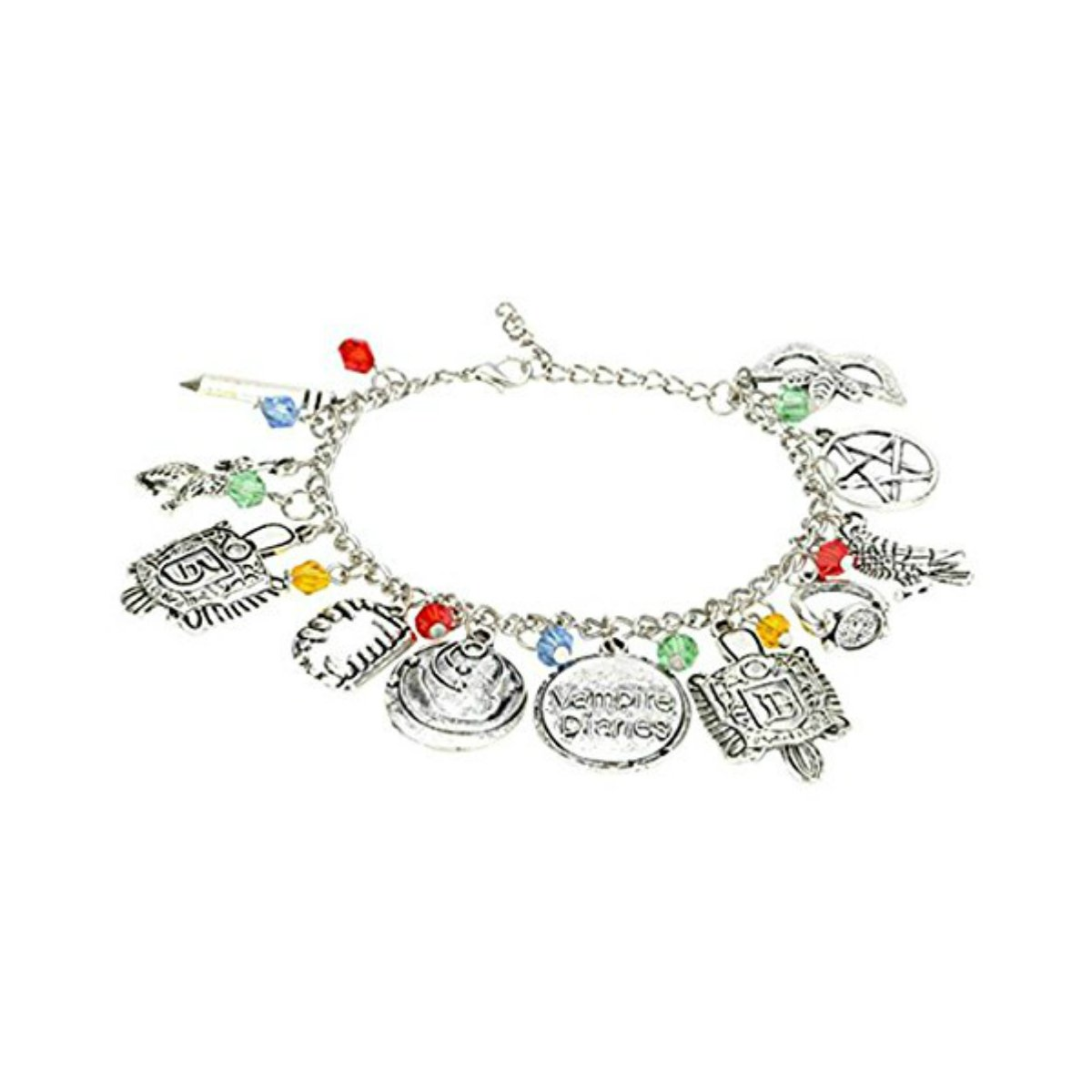 US FAMILY Vampire Diaries TV Series Theme Multi Charms Jewelry Bracelets Charm by Family Brands