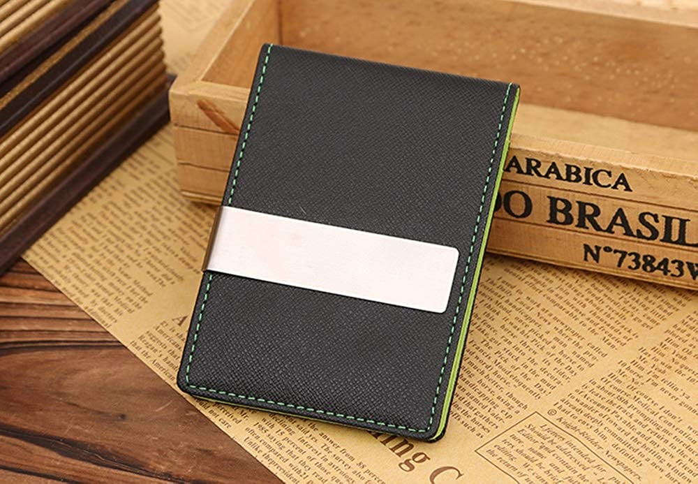 Winter Sale Euphoric Money Clip and Credit Card Holder for Men Leather