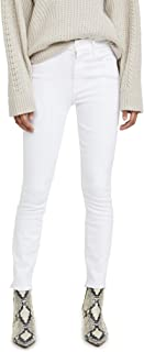 product image for MOTHER Women's High Waisted Looker Ankle Fray Jeans