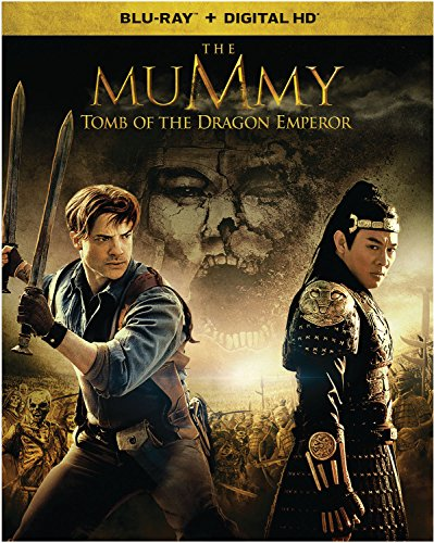 Blu-ray : The Mummy: Tomb Of The Dragon Emperor (Snap Case, Slipsleeve Packaging, Digitally Mastered in HD, With Movie Cash)