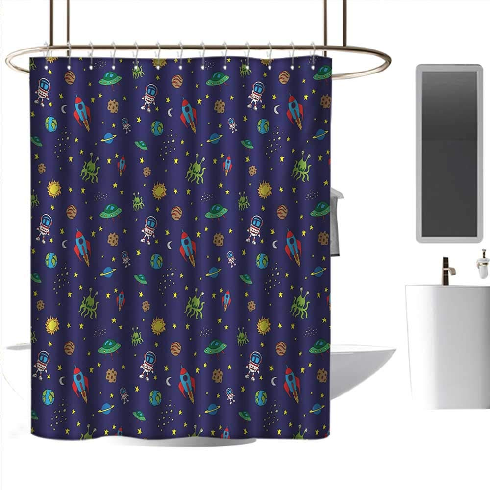 Amazon.com: Coolteey - Cortinas de ducha para cuarto de baño ...